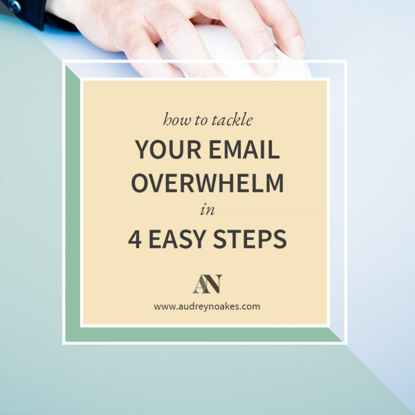 How to organize and automate your email systems. - Audrey Noakes