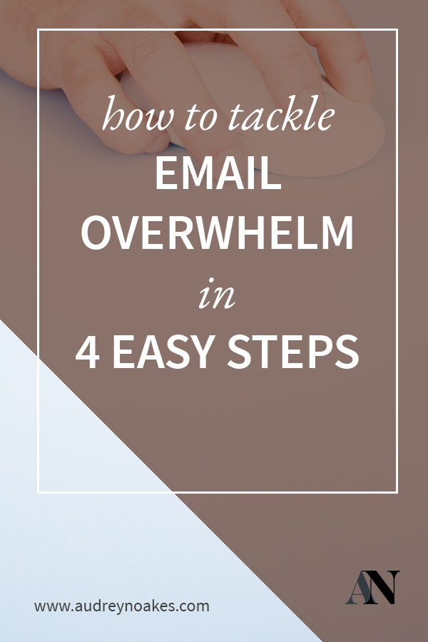 How to manage and organise your email inbox in 4 easy steps