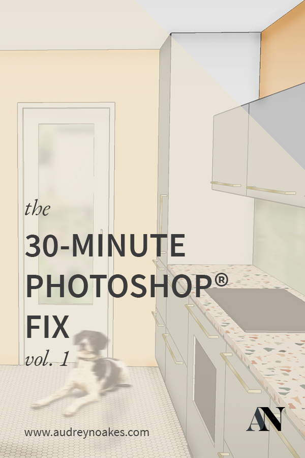 photoshop rendering sketchup model interior design audrey noakes