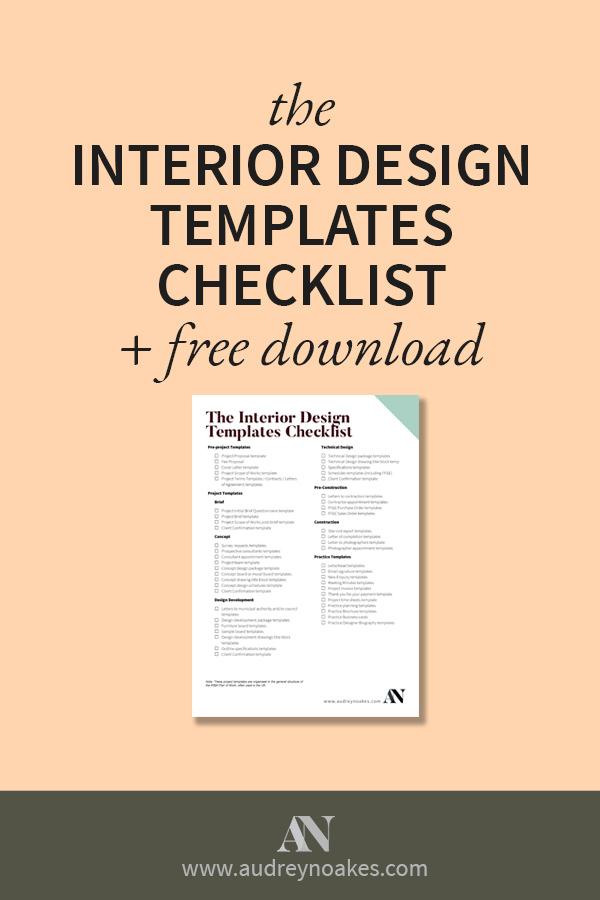 interior design sample board template printable