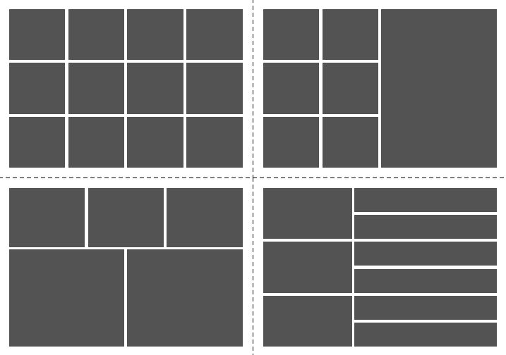 InDesign mood board templates