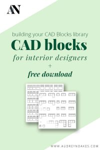 CAD Blocks for Interior Designers - Audrey Noakes