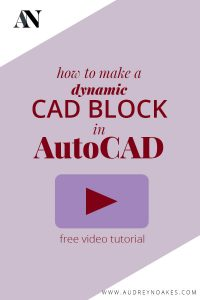 Dynamic blocks can be time saving aspects of your AutoCAD drawings. This tutorial walks you through how to make a dynamic door CAD block and window CAD block that can stretch and flip as needed.