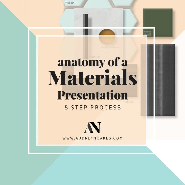 Anatomy of a Materials Presentation