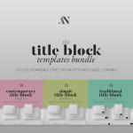 Title Block Templates Bundle Image