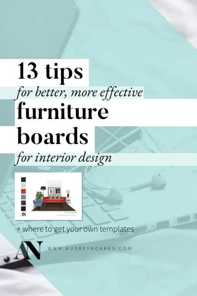 pin for pinterest for 13 tips for furniture boards blog post