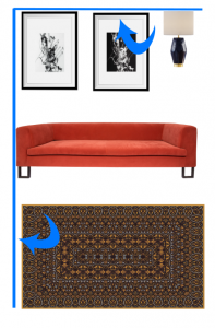 diagrammed bad image alignment on furniture board example