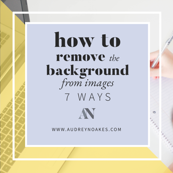 7 Ways: How to remove a background from an image for your interior design presentations