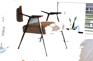 chair 2 with poor removal of background via keynote